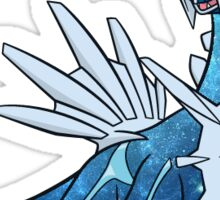 Dialga - Blue Space Art Sticker
