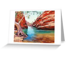 Outback Ghost Gum Greeting Card