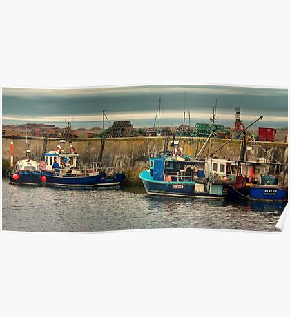The Harbour Seahouses Poster