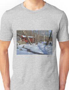 Snow Covered Mingo Unisex T-Shirt