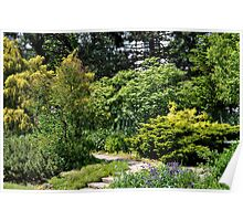 Whitehearn Gardens west wall Poster