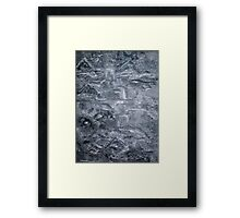 Black and White Imaginations Framed Print