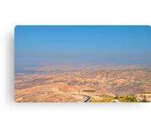 Jordan Valley Canvas Print