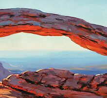 Desert Arch by Graham Gercken