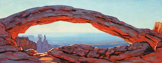Desert Arch by Graham Gercken