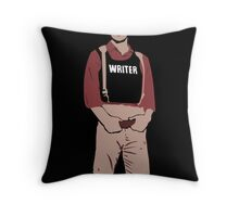 Captain Castle Throw Pillow