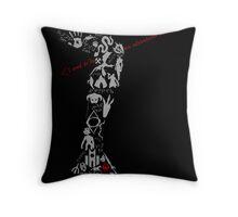 Arrow To The Tee - Skyrim Throw Pillow