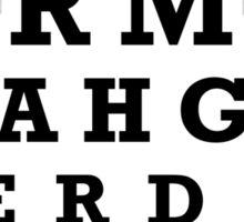 ERMAHGERD TSHERT!! Sticker