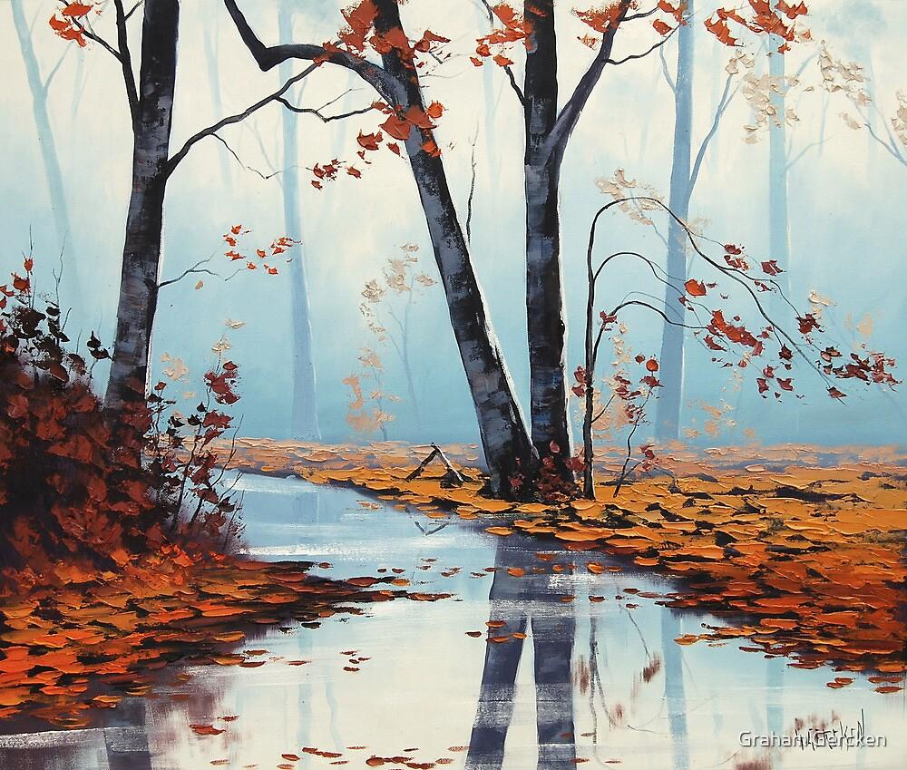River Trees by Graham Gercken