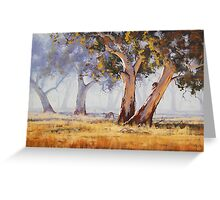 Kangaroo Grazing Greeting Card