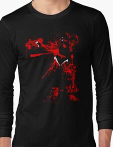 Two bloodied hands Long Sleeve T-Shirt