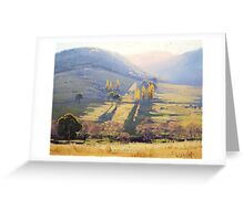 Afternoon Tarana , nsw Greeting Card