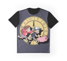 The Adventures of the Mystery Twins Graphic T-Shirt