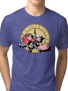 The Adventures of the Mystery Twins Tri-blend T-Shirt
