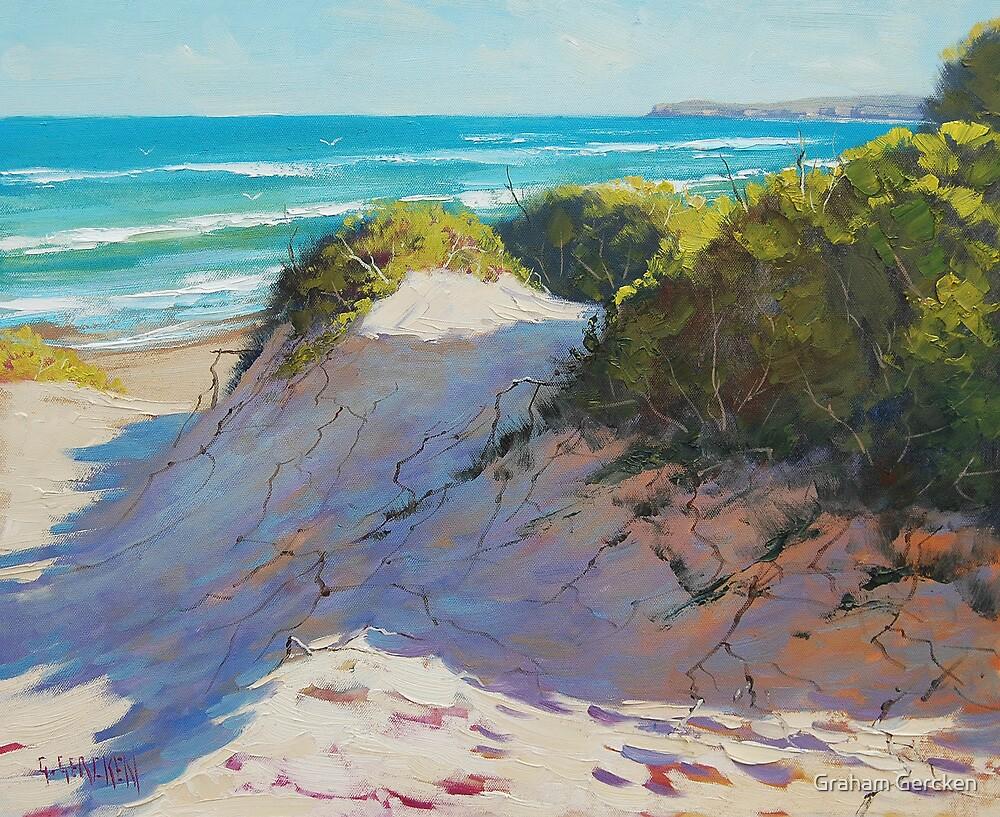 Quot Beach Dunes Painting Quot By Graham Gercken Redbubble