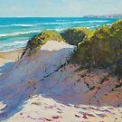 Beach Dunes Painting by Graham Gercken