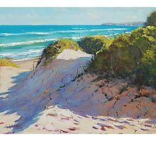Beach Dunes Painting Photographic Print