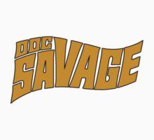 Doc Savage Man Of Bronze Logo by Buleste
