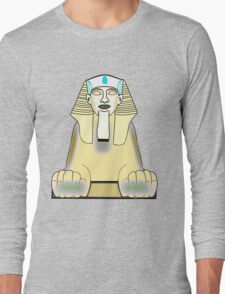 The Sphinx T-shirt design Long Sleeve T-Shirt