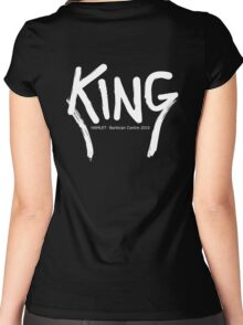 King Hamlet Women's Fitted Scoop T-Shirt