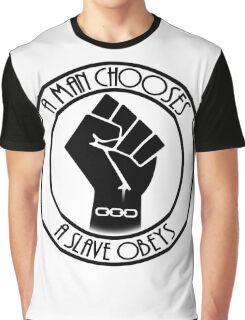 Raised Chain Fist Graphic T-Shirt