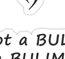 Perks of being a wallflower Bulimia Sticker