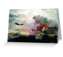 I will rise Greeting Card