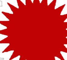 Allah Las Sun Drawing Sticker