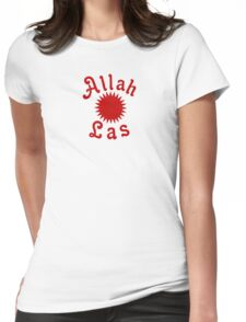 Allah Las Sun Drawing Womens Fitted T-Shirt