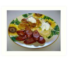 Ukrainian Dinner Art Print