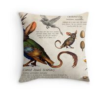 The Jewel Starling Throw Pillow