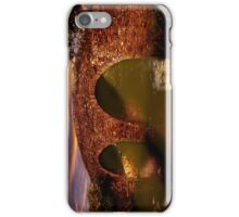 Sun Set Over Packhorse Bridge iPhone Case/Skin
