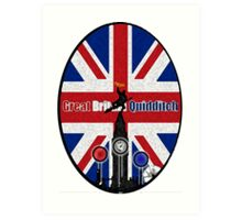 Great Britain Quidditch Art Print