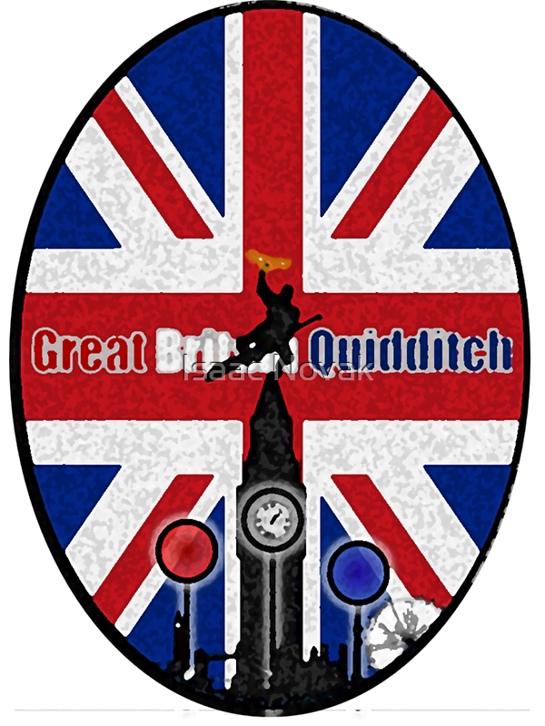 Great Britain Quidditch by Isaac Novak
