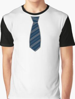 Raven House Tie Graphic T-Shirt