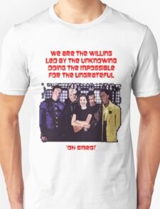 Red Dwarf 'The Willing' T-Shirt