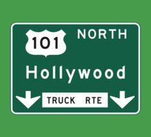 Hollywood Road Sign, California, USA Kids Tee