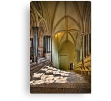 Light On The Stairs Canvas Print