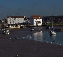 Low Tide, The Tide Mill, Woodbridge ( 1:1) by wiggyofipswich