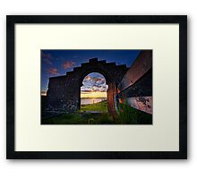 View From The Lair Framed Print