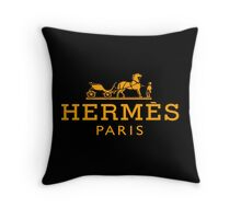 Hermes Classic Throw Pillow