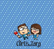Curtis and Tara Show Stop Stabbing LOGO by CurtisAndTara