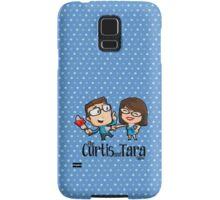 Curtis and Tara Show Stop Stabbing LOGO Samsung Galaxy Case/Skin