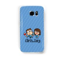 Curtis and Tara Show Stop Stabbing LOGO Samsung Galaxy Case/Skin