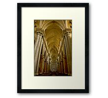 Erice Cathedral Framed Print