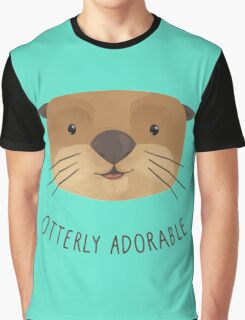 Otterly Adorable Graphic T-Shirt