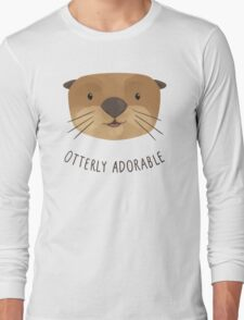 Otterly Adorable Long Sleeve T-Shirt