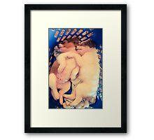 Siblings Love Framed Print