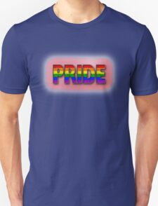 Rainbow PRIDE - Red Unisex T-Shirt