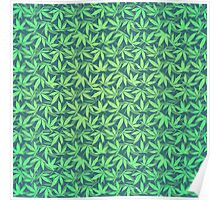 Cannabis / Hemp / 420 / Marijuana  - Pattern Poster